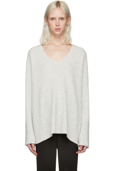Rag & Bone - Grey Cashmere Phyllis Sweater