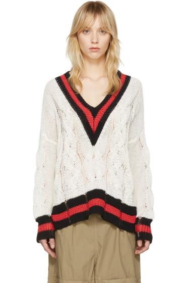 Rag & Bone - White Emma Sweater