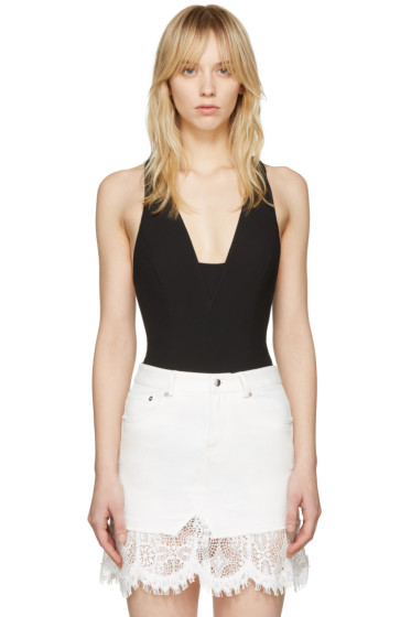Rag & Bone - Black Elle Bodysuit
