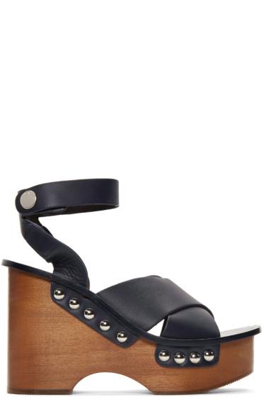 Rag & Bone - Navy Hester Sandals