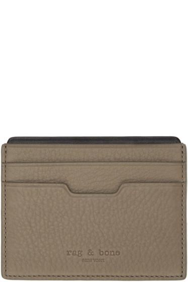 Rag & Bone - Brown Leather Card Holder