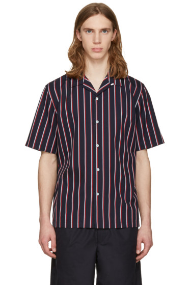 Rag & Bone - Navy Striped Glenn Shirt