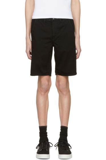 Rag & Bone - Black Standard Issue Shorts