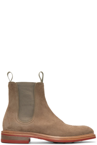 Rag & Bone - Beige Suede Spencer Boots