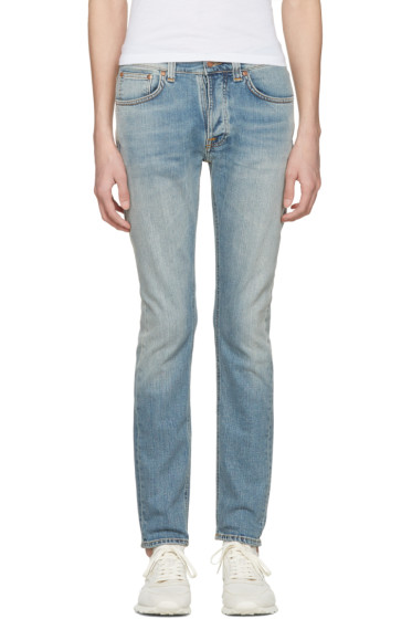 Nudie Jeans - Blue Tilted Tor Jeans