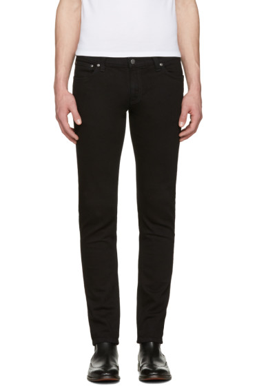 Nudie Jeans - Black Long John Jeans