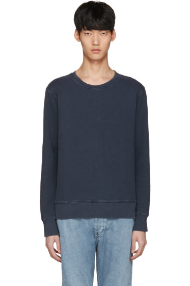 Nudie Jeans - Navy Sven Rugged Pullover