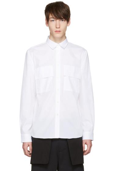 Public School - White Craw Shirt