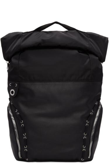 Diesel Black Gold - Black Hiking Backpack