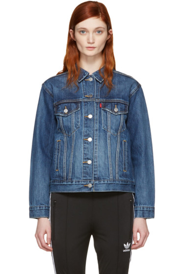 Levi's - Blue Ex-Boyfriend Trucker Jacket