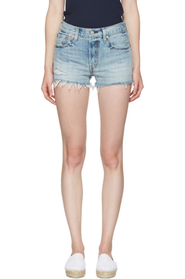Levi's - Blue Denim 501 Shorts