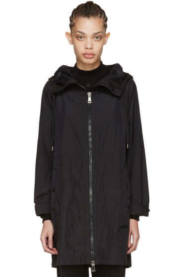 Moncler - Black Ortie Hooded Coat