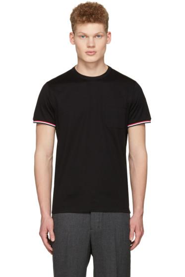 Moncler - Black Maglia Pocket T-Shirt