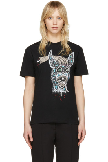 McQ Alexander Mcqueen - Black 'Bring Me the Head of the Bunny' T-Shirt