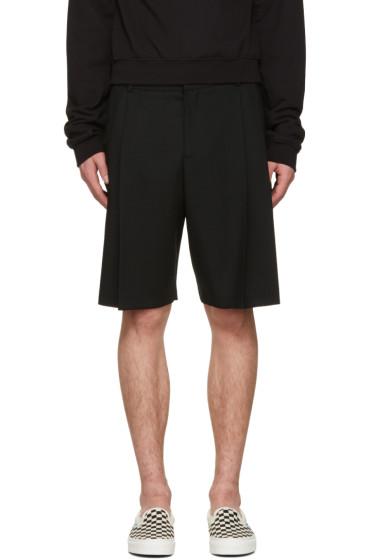 McQ Alexander Mcqueen - Black Kilt Shorts