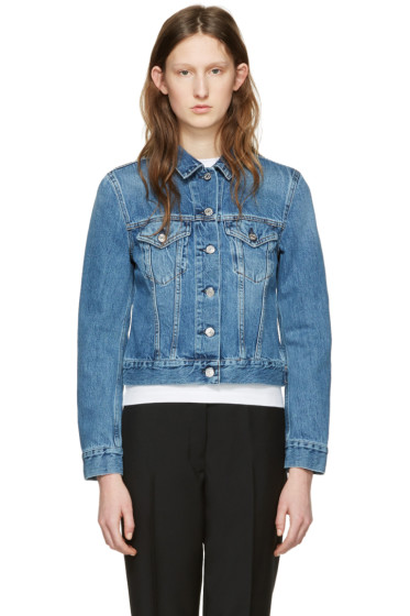 Acne Studios - Blue Denim Top Jacket