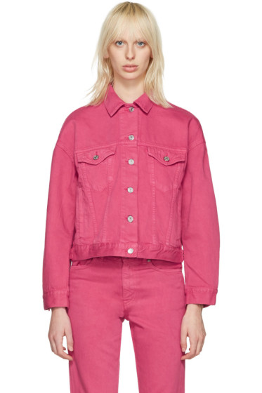 Acne Studios - Pink Denim Lab Jacket