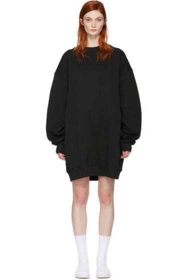 Acne Studios - Black Oversized Yanin Dress