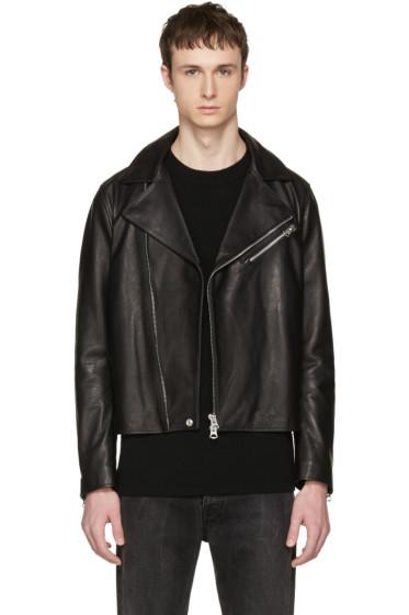 Acne Studios - Black Leather Axl Jacket