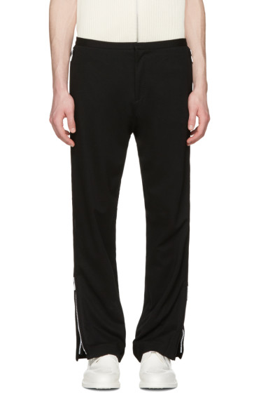 Acne Studios - Black Bomere Zip Trousers