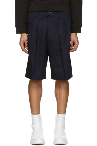 Acne Studios - Navy Alex H Twill Shorts