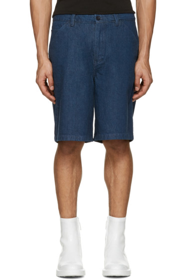 Acne Studios - Indigo Denim Allan Shorts