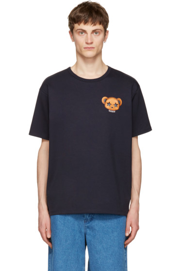 Acne Studios - Navy Niagara Bear T-Shirt