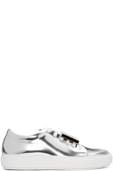 Acne Studios - SSENSE Exclusive Silver Adrian Sneakers