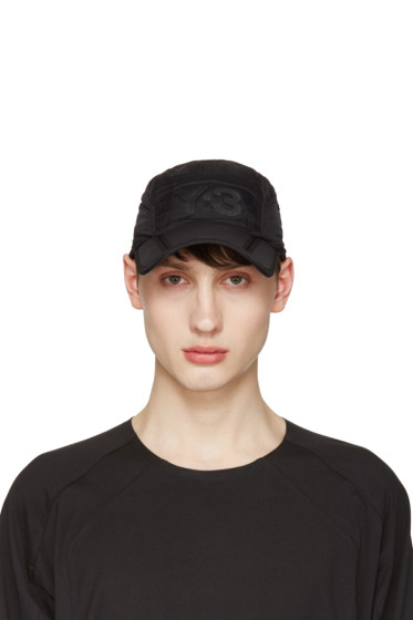 Y-3 - Black Fold Cap