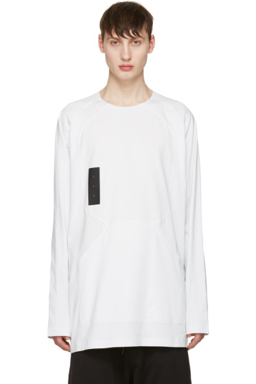 Y-3 - White Skylight Long Sleeve T-Shirt