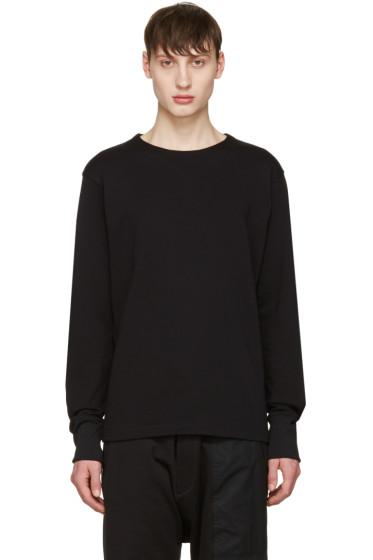 Y-3 - Black Future Craft Long Sleeve T-Shirt