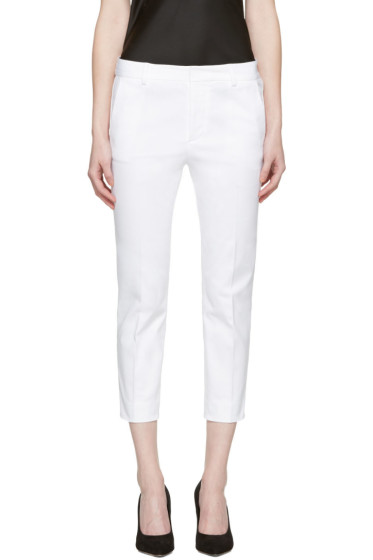 Dsquared2 - White Cool Girl Cropped Trousers