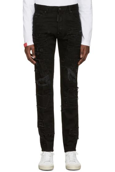 Dsquared2 - Black Slash Cool Guy Jeans