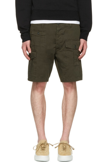 Dsquared2 - Green Cargo Shorts