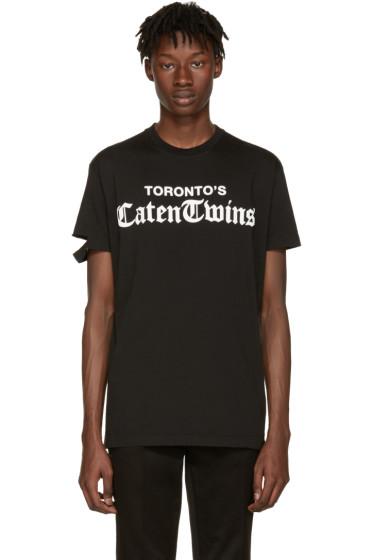 Dsquared2 - Black 'Toronto Caten Twins' T-Shirt