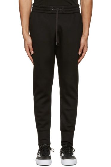 Helmut Lang - Black Curved Leg Track Pants