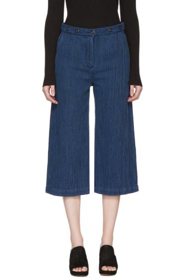 YMC - Indigo Kyoto Trousers
