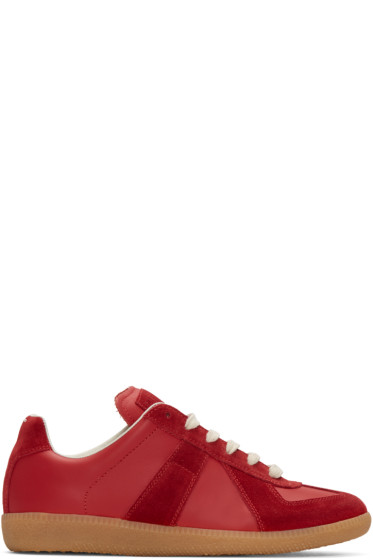 Maison Margiela - Red Replica Sneakers