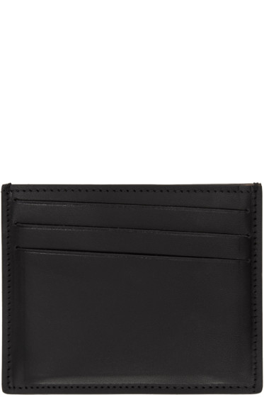 Maison Margiela - Black Leather Card Holder