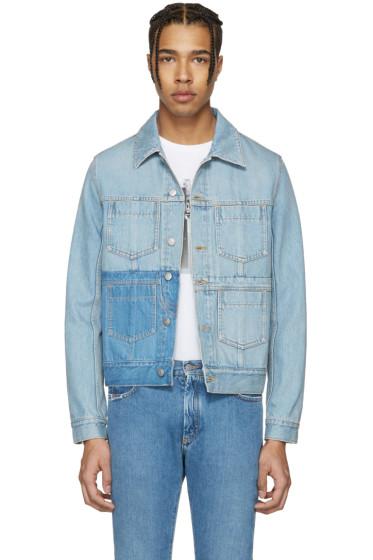 Maison Margiela - Blue Double Denim Jacket