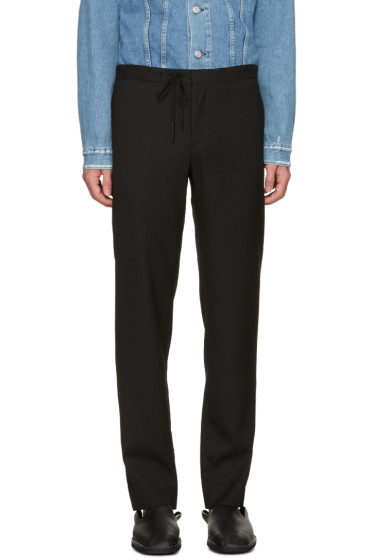 Maison Margiela - Black Drawstring Trousers