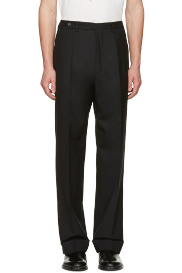 Maison Margiela - Black High-Rise Trousers