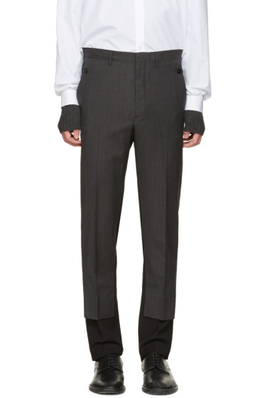 Maison Margiela - Black Contrast Trousers