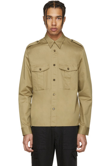 Maison Margiela - Beige Military Shirt