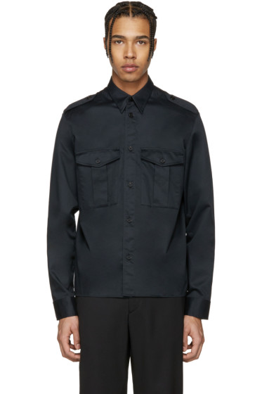 Maison Margiela - Black Military Shirt