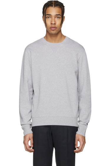 Maison Margiela - Grey Elbow Patch Pullover