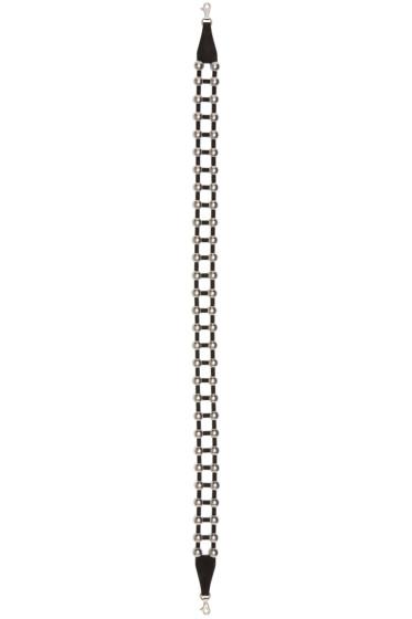 Alexander Wang - Black Studded Attica Shoulder Strap