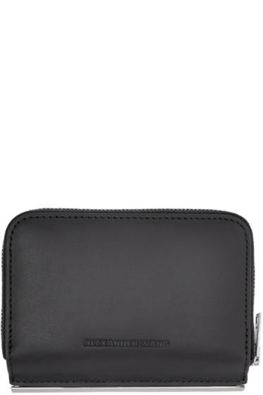 Alexander Wang - Black Dime Compact Bar Wallet