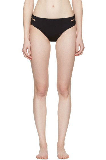 Alexander Wang - Black Fishline Bikini Briefs