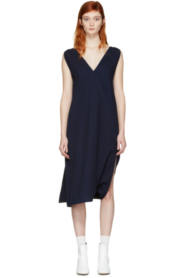 MM6 Maison Margiela - Indigo Two-Way Dress